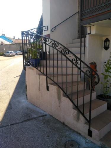garde corps d'escalier ferronnerie