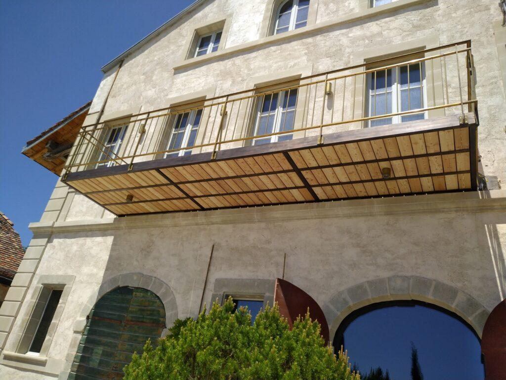 Ferronnerie balcon